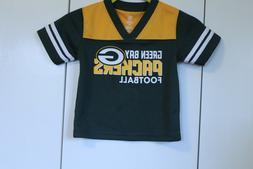 Toddler Green Bay Packers 2T Jersey Shirt  NFL Team Apparel