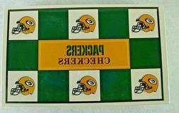Vintage 1993 NFL Green Bay Packers Checkers Rare Collectible