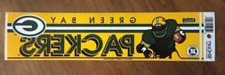 vintage green bay packers 1990s bumper sticker